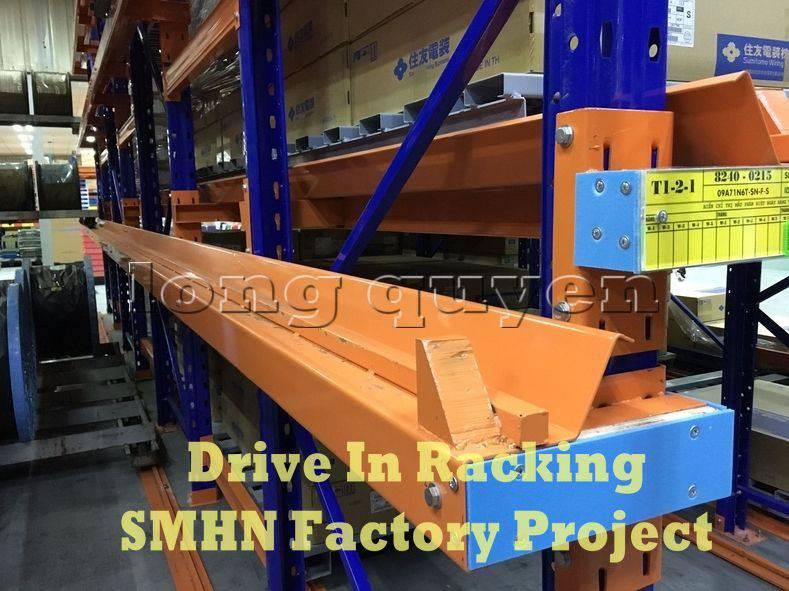 Giá kệ Drive In chứa pallet để cuộn dây nhà máy SMHN (4)