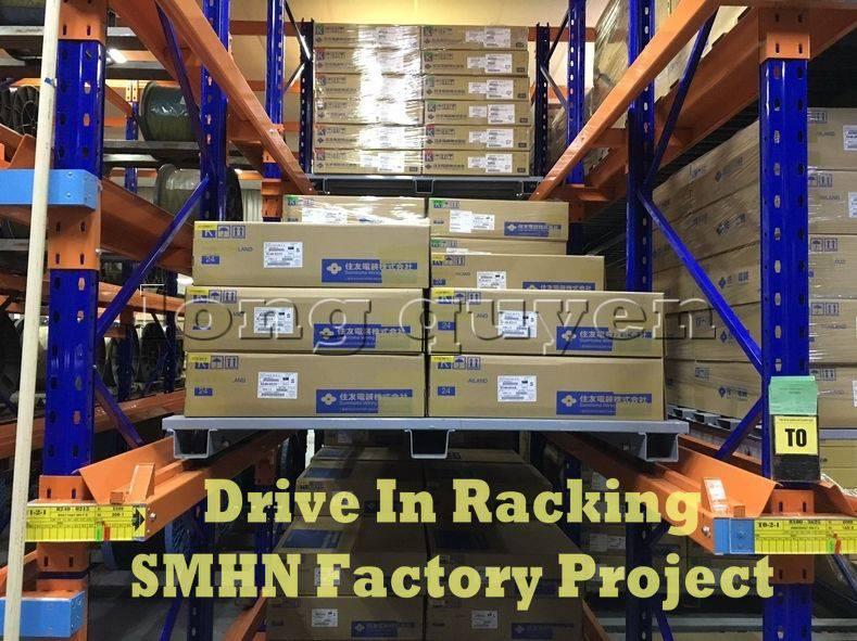 Giá kệ Drive In chứa pallet để cuộn dây nhà máy SMHN (6)