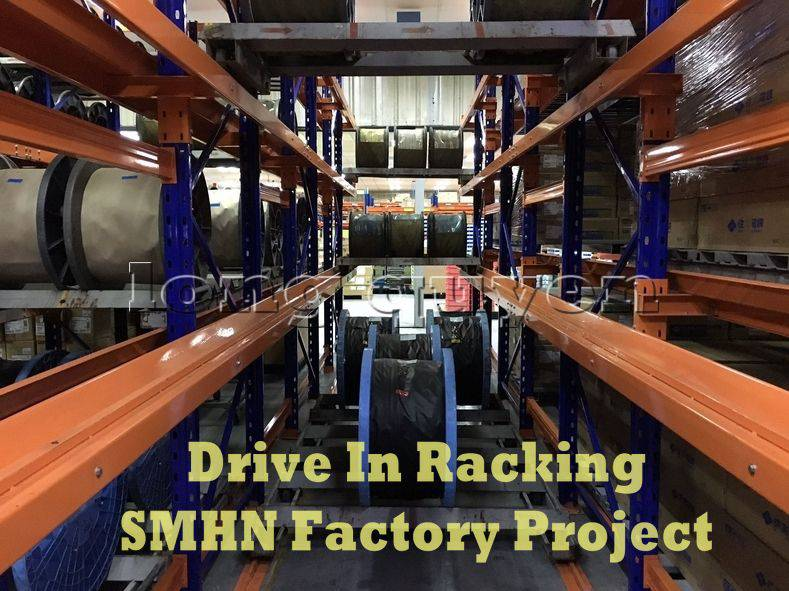 Giá kệ Drive In chứa pallet để cuộn dây nhà máy SMHN (7)