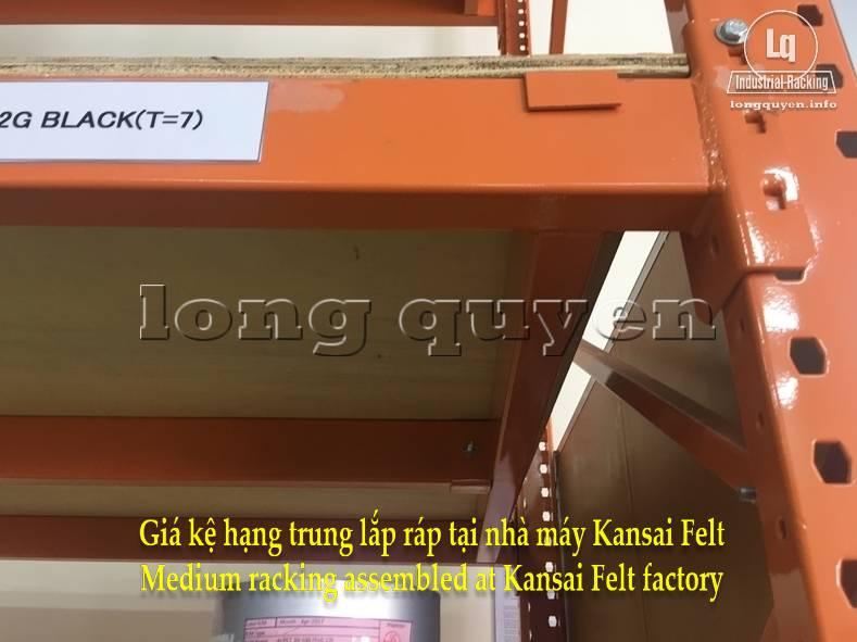 Giá kệ trung tải giá kệ hạng trung lắp ráp tại nhà máy Kansai Felt (5)