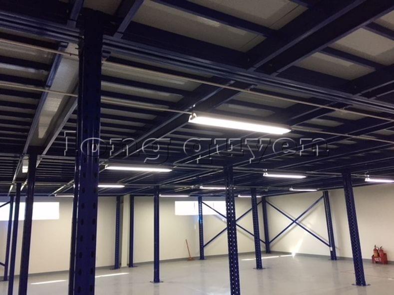 ắp đặt sàn kho hàng tầng lửng mezzanine tại công ty Leprocon (4)