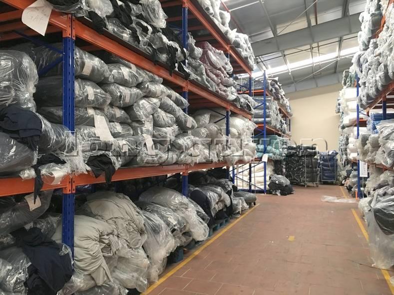 Kệ sắt kệ pallet kho hàng nguyên liệu may mặc vải cuộn công ty May Hà Bắc (6)
