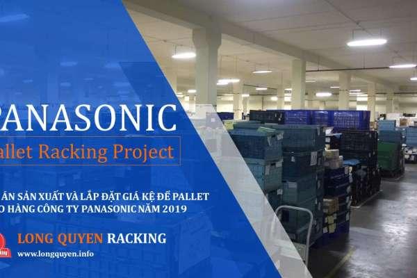 Giá kệ để hàng kệ kho hàng để pallet công ty Panasonic (15)