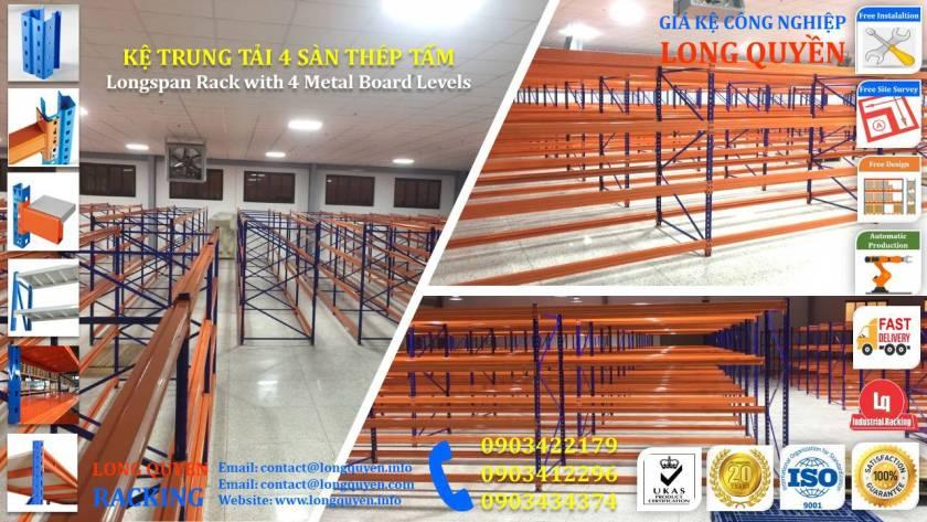 Kệ sắt kệ trung tải giá kệ công nghiệp công ty LHVNA (1)