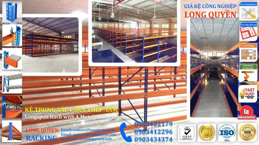 Kệ sắt kệ trung tải giá kệ công nghiệp công ty LHVNA (7)