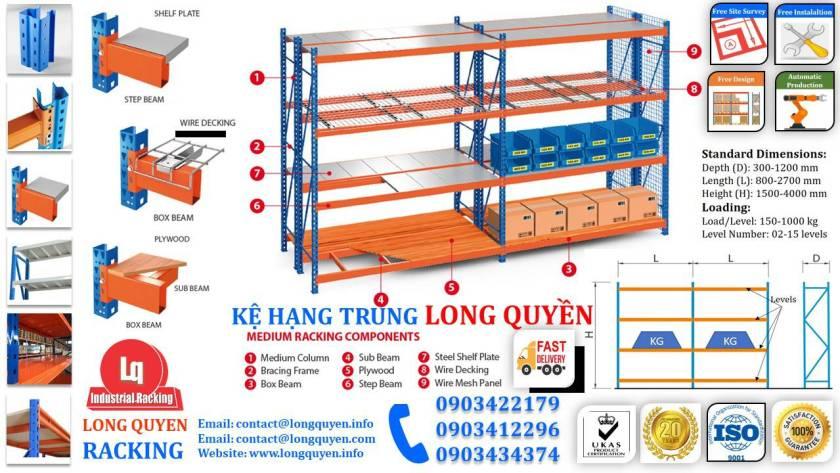 Kệ sắt kệ trung tải giá kệ công nghiệp công ty LHVNA (9)