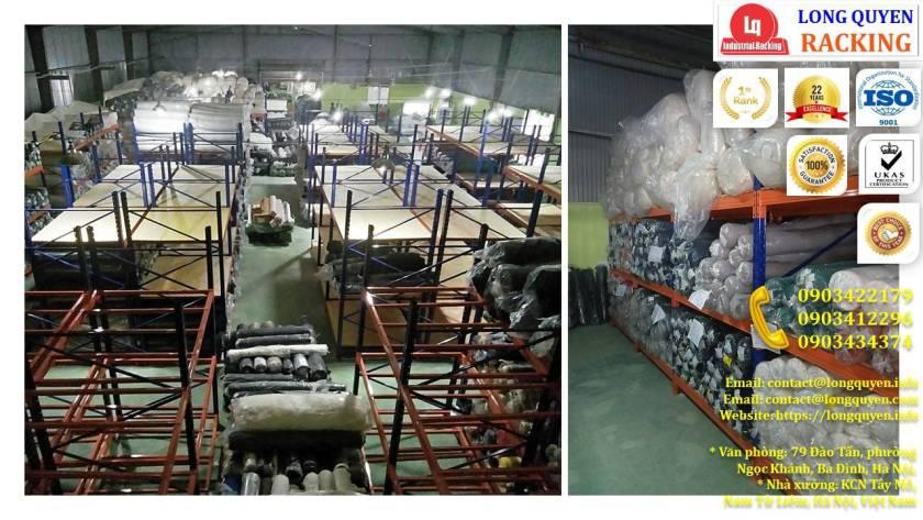 uộn kệ kho để vải công ty May Hưng Hà (7)