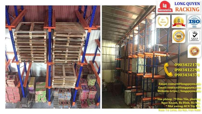 Kệ Drive-In Kệ Kho Hàng Kệ Để Hàng Lắp Đặt tại Công ty Khánh Toàn (6)
