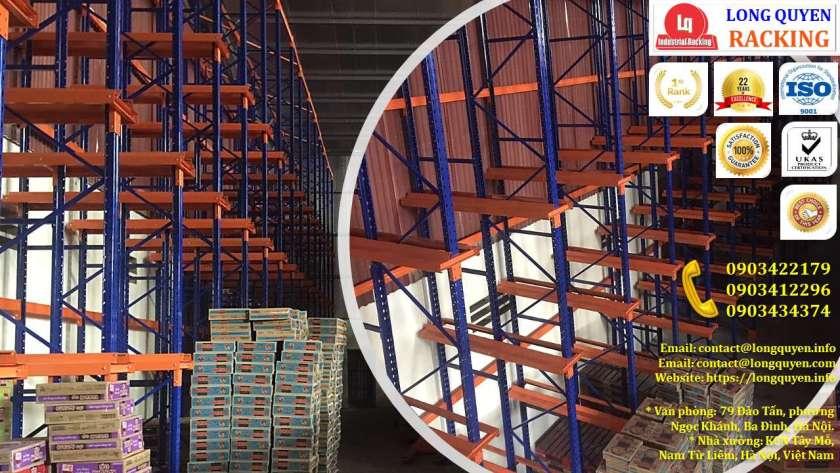 Kệ Drive-In Kệ Kho Hàng Kệ Để Hàng Lắp Đặt tại Công ty Khánh Toàn (7)