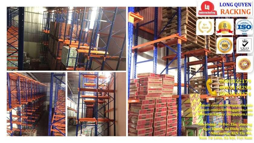 Kệ Drive-In Kệ Kho Hàng Kệ Để Hàng Lắp Đặt tại Công ty Khánh Toàn (9)