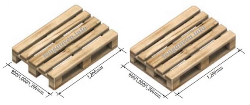 Pallet, kích thước và phân loại pallet trong lưu trữ hàng hóa 2