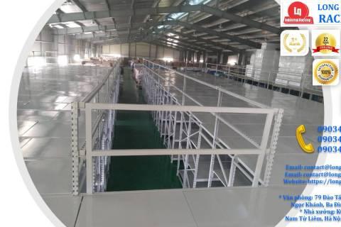 àn tầng lửng trên nóc hệ thống kệ trung tải công ty Sunhouse (1)