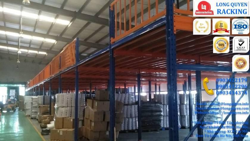Tầng lửng gác xép sàn mezzanine công nghiệp công ty Ferroli (1)