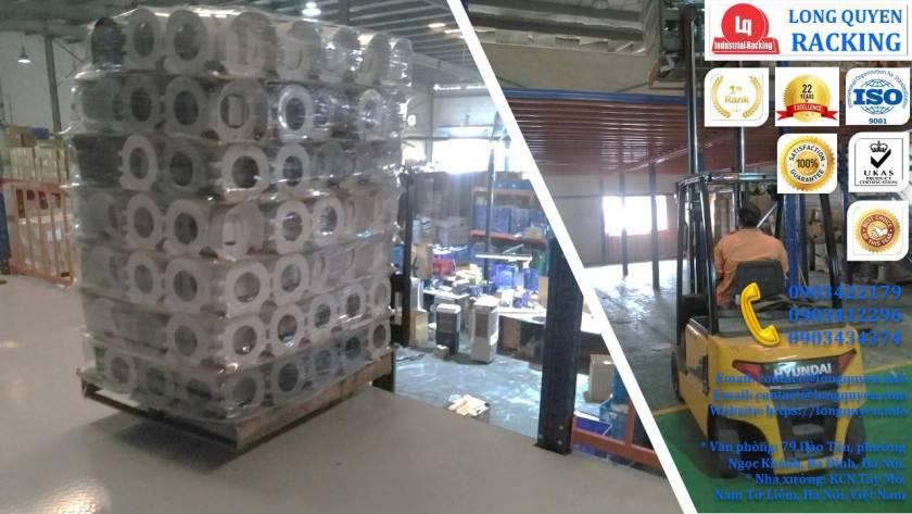 Tầng lửng gác xép sàn mezzanine công nghiệp công ty Ferroli (8)