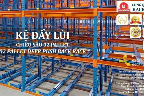 Kệ Đẩy Lùi 02 Pallet Deep Push-Back Rack (1)