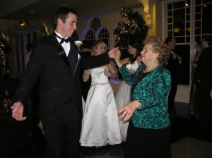 Waltzing with my nagymama at the Ball.