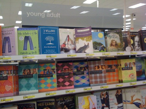 YA Lit Section at Target (Flickr/ theunquietlibrarian | Creative Commons)