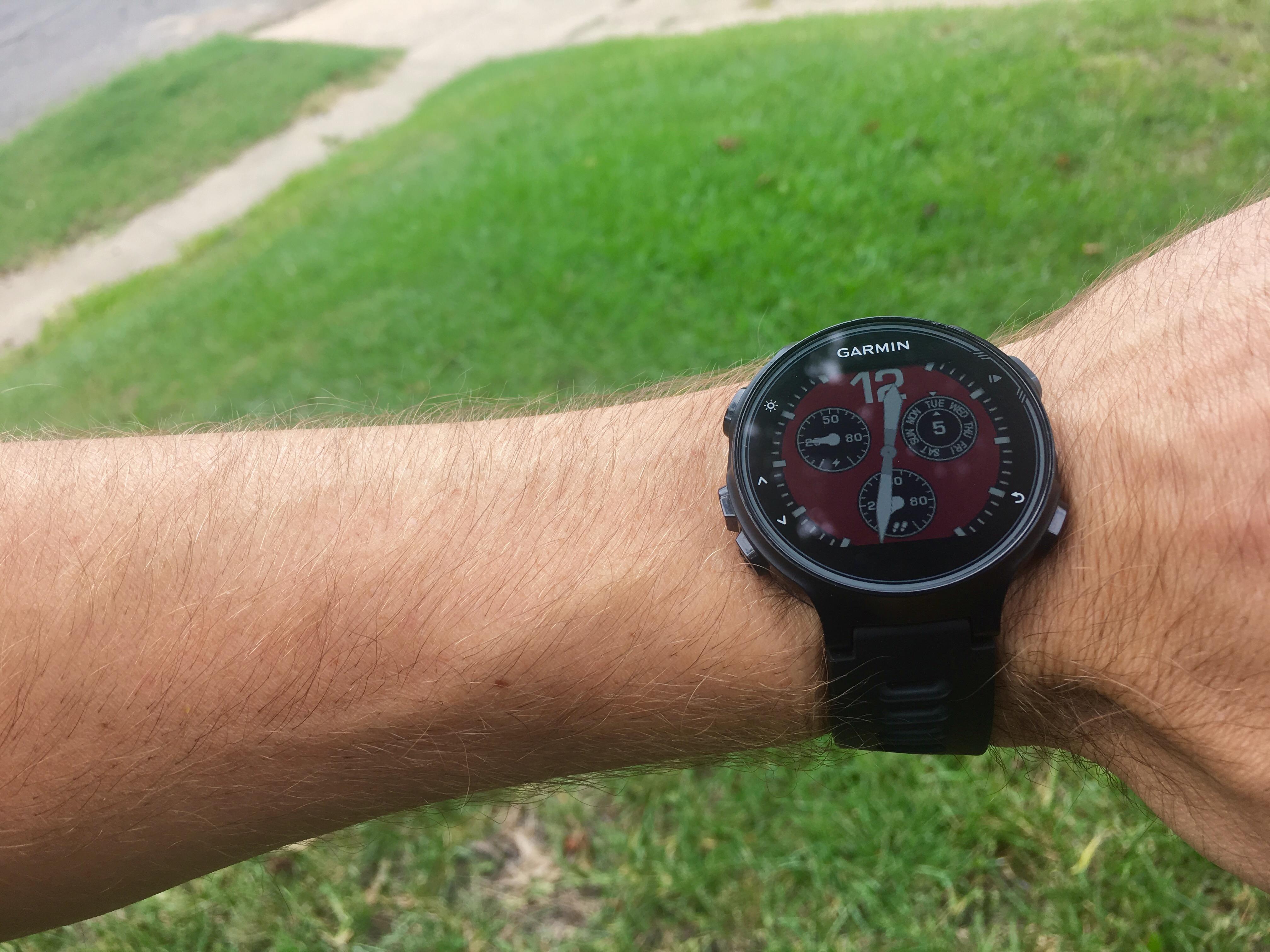 Garmin 735XT GPS watch