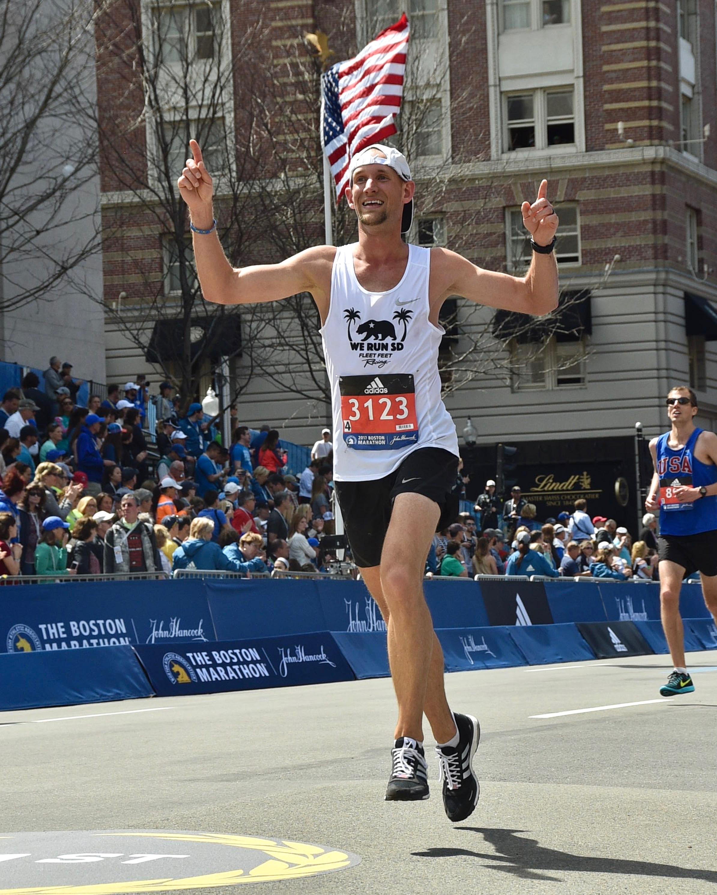 Boston Marathon review
