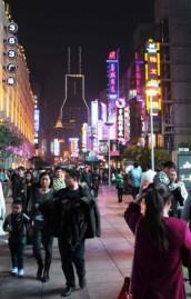 nanjing road nuit