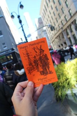 Bon Thanksgiving petit pilgrim !