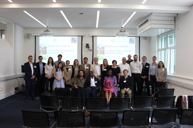 Participants of Practical Challenges of Sustainable Electrification in Africa workshop, Oxford University