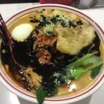 吉祥寺で中本風タンタン麺を食べてきた!真っ黒なマー油で見た目ヤバっ
