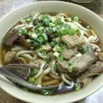 西門 富宏牛肉麺 綜合麺