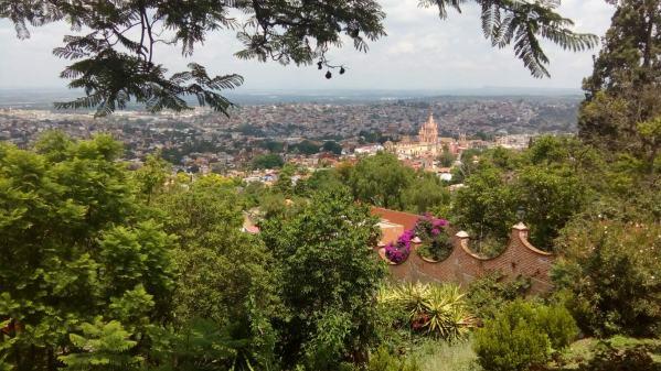 A view from El Mirador of beautiful San Miguel de Allende, Mexico