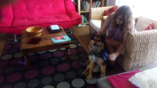 Tasha loved being groomed
