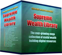 d20cba5c51 The Supreme Wealth Library is a downloadable library with over a thousand  resources and continuously growing. These resources include ebooks