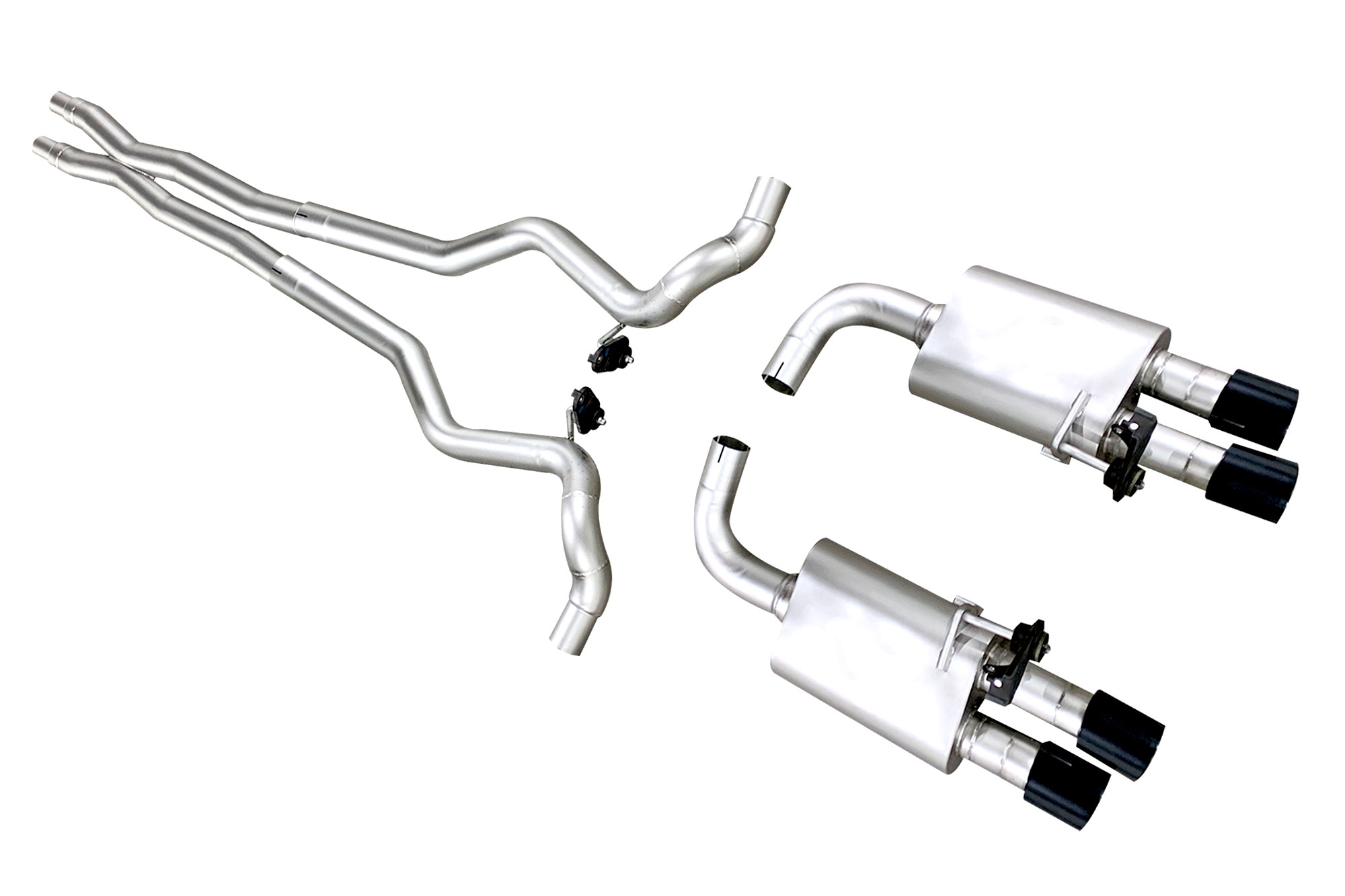 Ford Mustang Gt 18 20 True Dual Cat Back Exhaust
