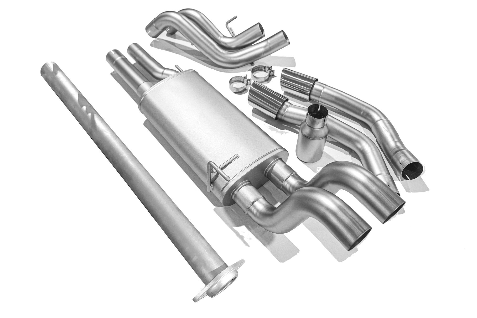 ford f150 catback exhaust 15 20 true dual cat back exhaust system