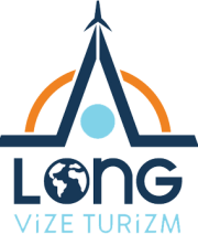 Long Vize Logo Beyaz