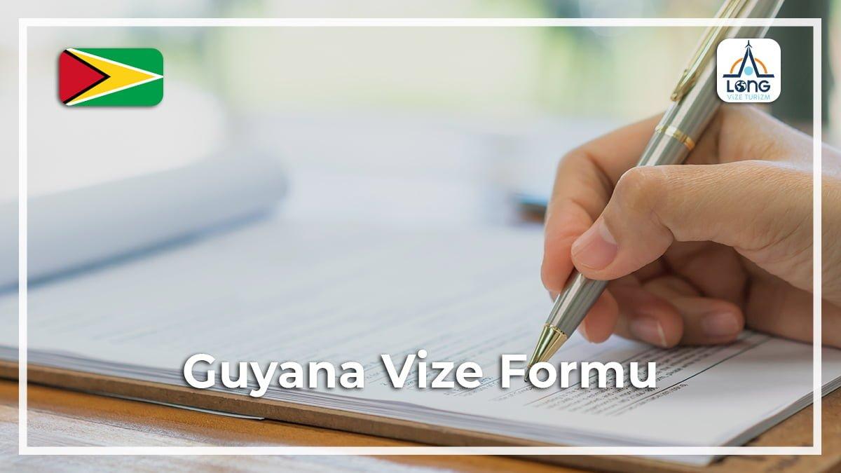 Vize Formu Guyana