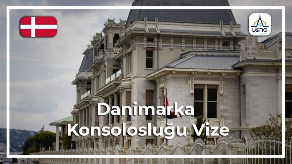 Konsolosluğu vize Danimarka