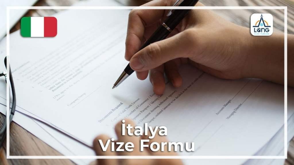 Vize Formu İtalya