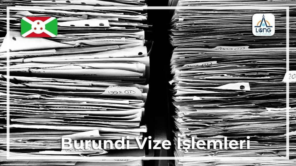 Vize İşlemleri Burundi