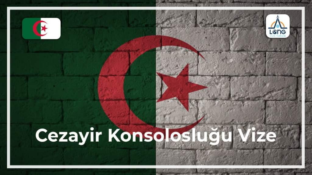 Konsolosluğu Vize Cezayir