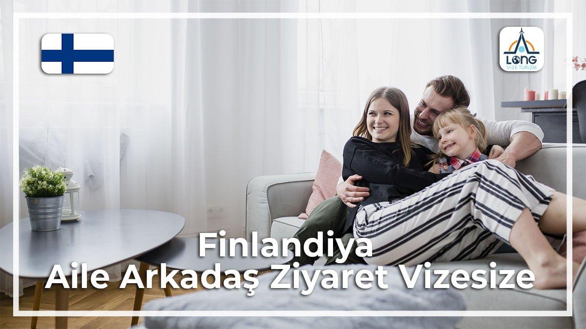 Aile Arkadaş Ziyareti Vizesi Finlandiya