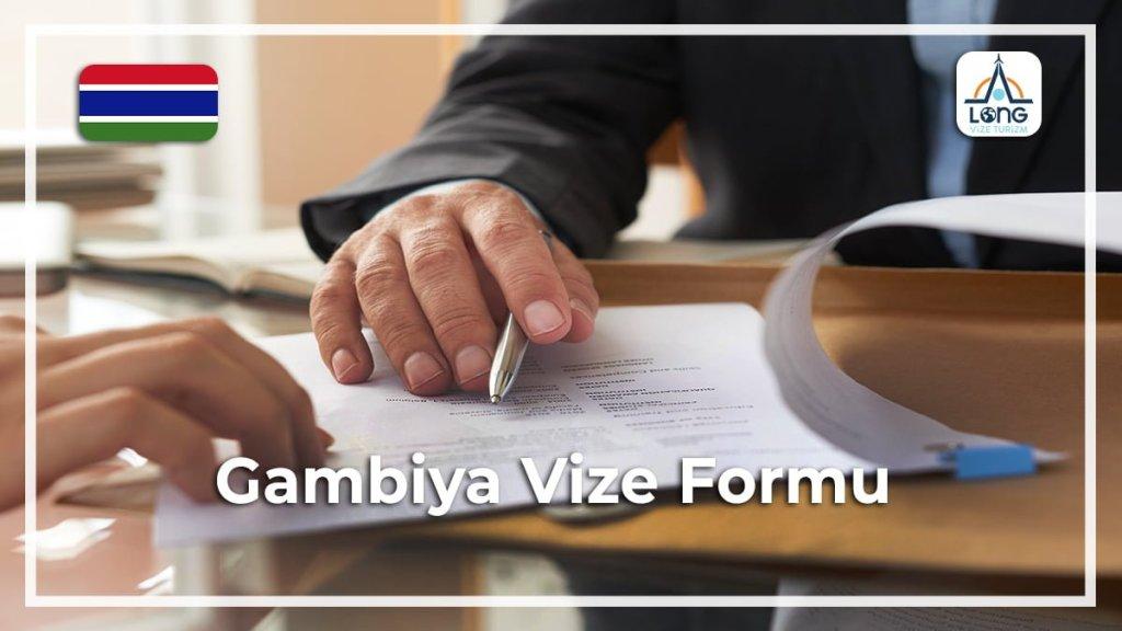 Vize Formu Gambiya