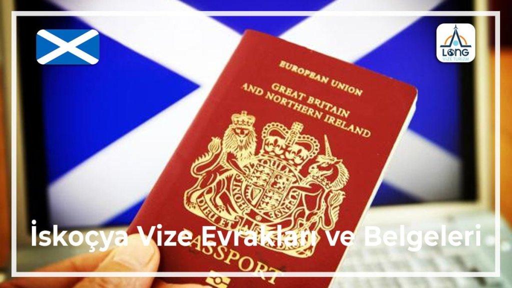 Vize Evrakları Ve Belgeleri İskoçya