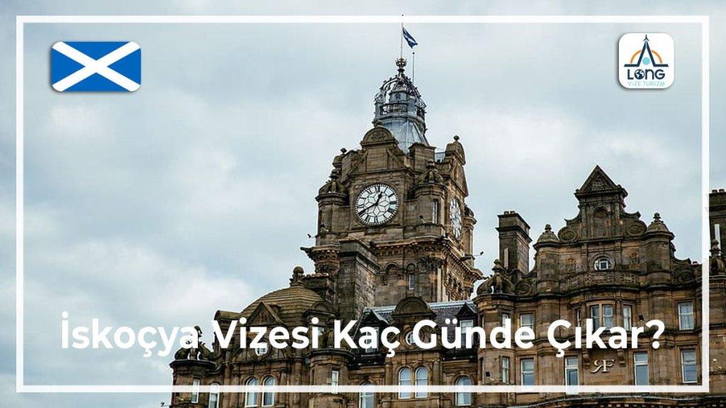 Vizesi Kaç Günde Çıkar İskoçya