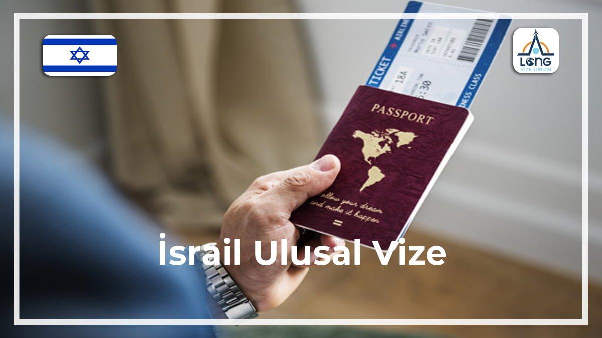 Ulusal Vize İsrail