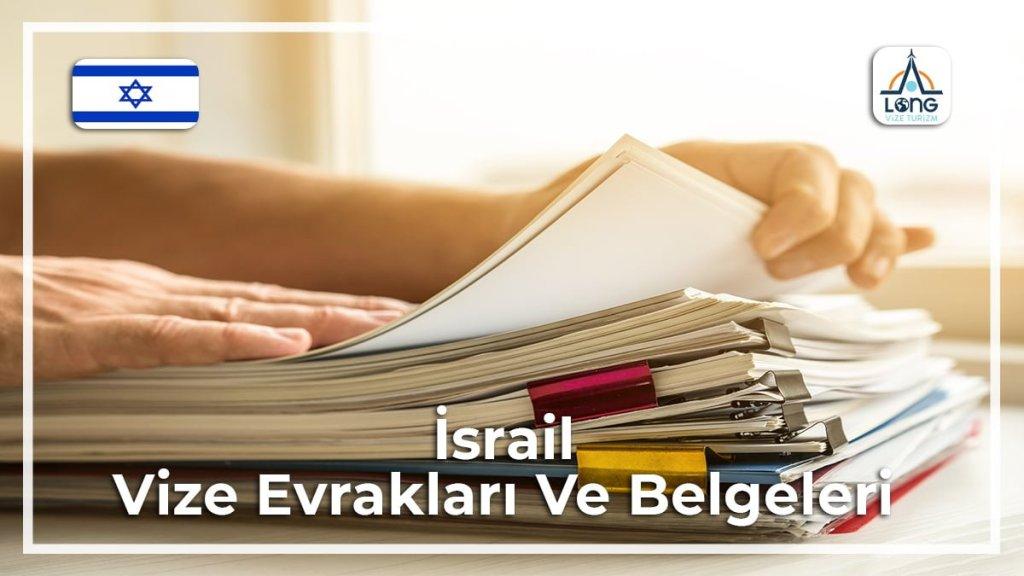 Vize Evrakları Ve Belgeleri İsrail