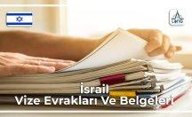 İsrail Vizesi İçin Gerekli Belgeler Ve Evraklar