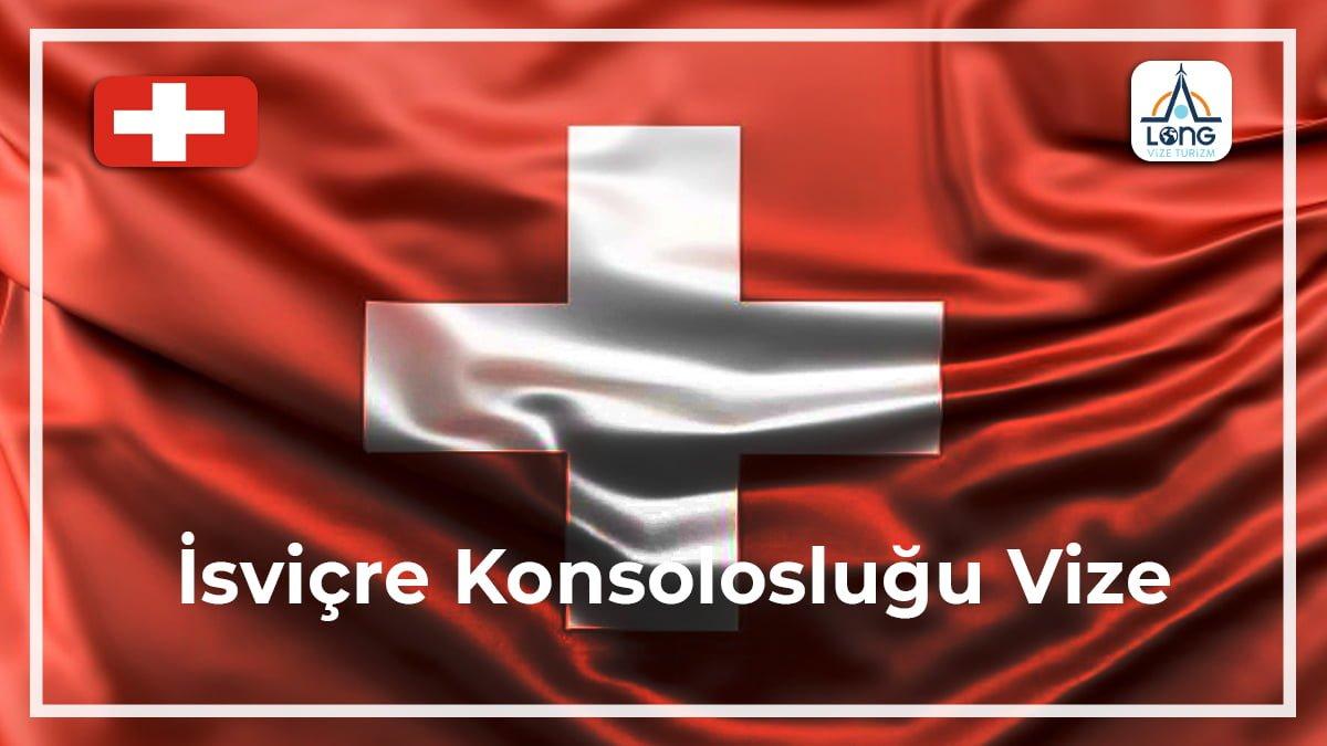 Konsolosluğu Vize İsviçre