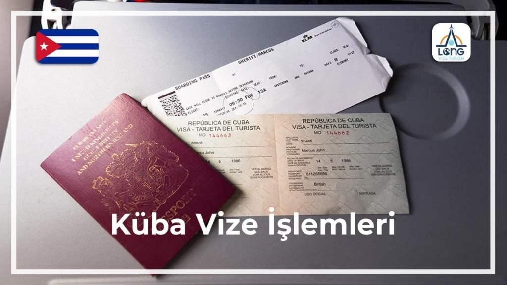 Vize İşlemleri Küba