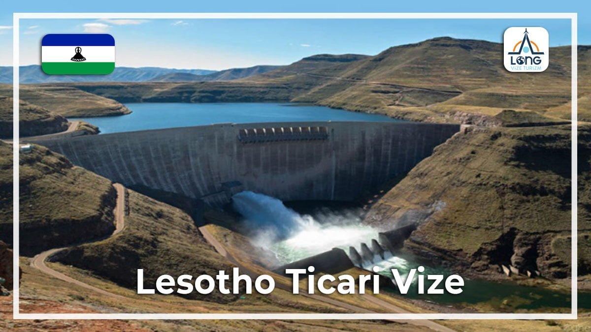 Ticari Vize Lesotho