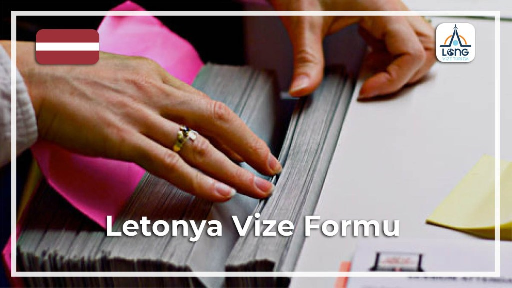 Vize Formu Letonya